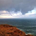 Nubes que quieren tirarse al mar