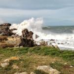 Tremenda mar en La Virgen del Mar