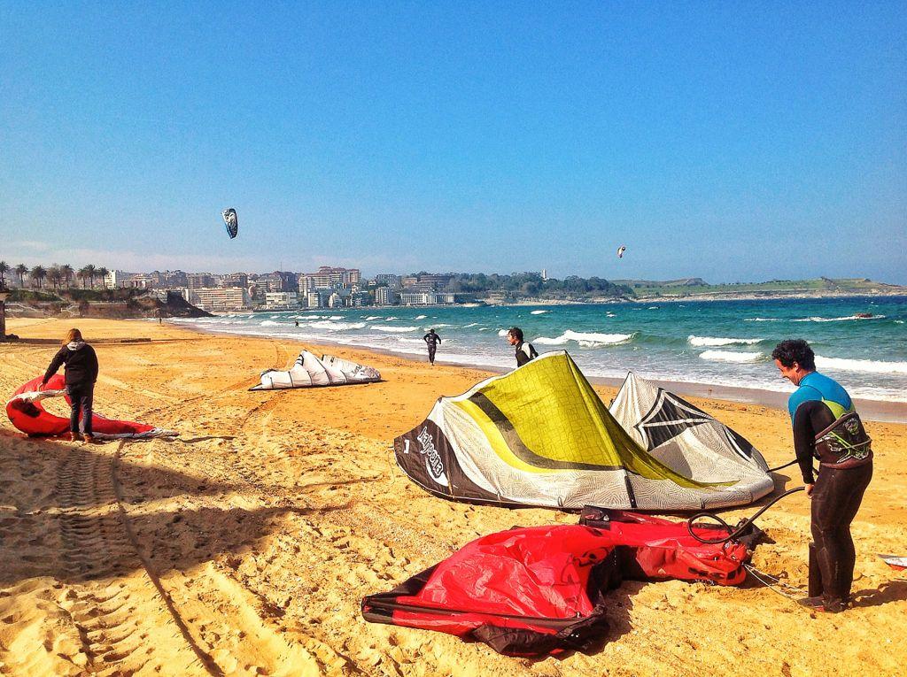 cometas-kite-surf-sardiner-santander