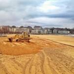 El Sardinero necesita 80.000 nuevos metros cúbicos de arena