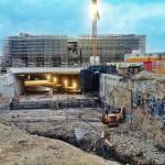 Así se ve el Centro Botín desde la entrada del nuevo túnel