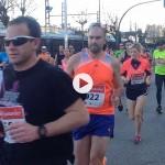 Si has corrido la media maratón de Santander igual te ves