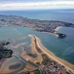 Espectacular imagen de Santander desde el aire