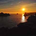 Una mañana de lunes en Costa Quebrada