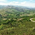 El mirador de Rábago, parada obligatoria en la subida a la cueva de El Soplao