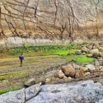 Rocas que apabullan de 90 millones de años
