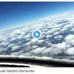 Time lapse de un vuelo Madrid-Santander