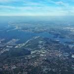 Volando sobre Santander