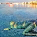 De cabeza a la bahía de Santander