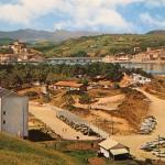 San Vicente de la Barquera cuando en el aparcamiento de Merón había dunas