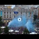 El chupinazo de la Semana Grande de Santander 2014. Dentro video
