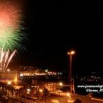 Mañana viernes a las 23 horas habrá fuegos artificiales en la bahía