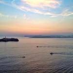 Un instante antes de la salida del sol