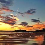 Amanece con los primeros cielos de sur de septiembre