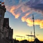 Despertar con sur en el Palacio de la Magdalena
