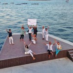 Las remeras de Santander en Boga les desean todos los éxitos a los regatistas españoles del Mundial de Vela