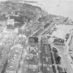 Santander cuando el Club Marítimo todavía no se había construido en aguas de la bahía