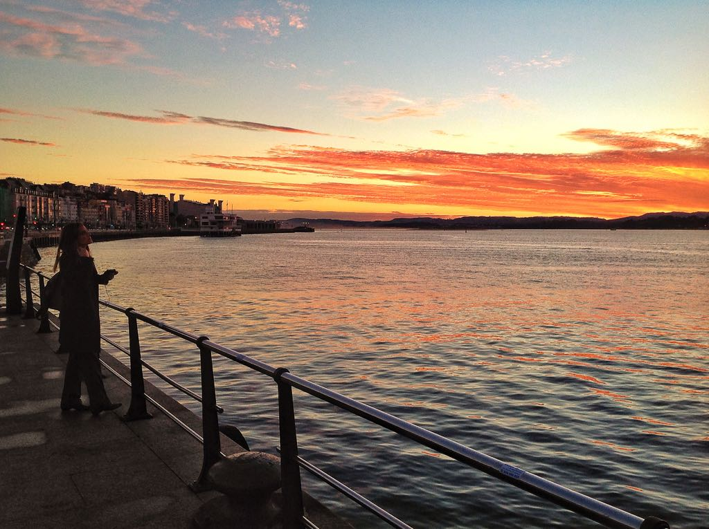 Anatomía de un amanecer en la bahía de Santander | EL TOMAVISTAS DE ...