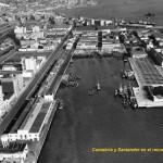 Santander cuando en Castilla-Hermida había naves y solares vacíos