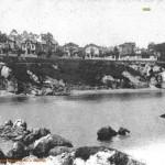 El Camello en 1900 con marea alta y marea baja