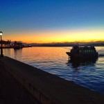 Un amanecer de cielos azules. Por fin