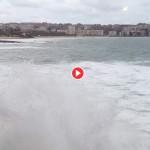 Viento, espuma y algo de mar