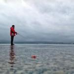 La bahía reducida a lo mínimo