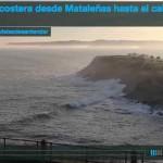 Bruma costera desde Mataleñas hasta el cabo de Ajo