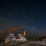 La lluvia de estrellas las cuadrántidas inmortalizadas por los Luciérnagos