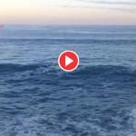 Vuelven las olas al Sardinero