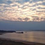 Borreguitos en el cielo de la bahía