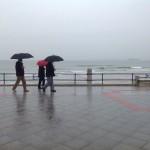 Otro día de paraguas. Con ganas de tregua