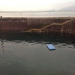 Un colchón en la bahía