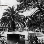 El estanque de los antiguos Jardines de Pereda
