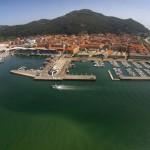 Santoña, a vista de dron. Maravillosa villa marinera