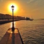Luz natural en la farola más famosa de Santander