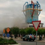 Incendio en el Maremondo. Sardinero