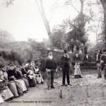 En la bolera de Quijas. Año 1905