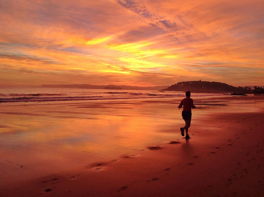 amanecer-correr-sardinero
