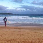 Empezar el día haciendo surf en el Sardinero. Gozada