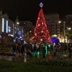 El encendido de las luces de Navidad en Santander