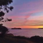 Un amanecer. Tres instantes en la bahía de Santander