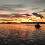 Hay días en los que madrugar merece la pena. Bahía de Santander