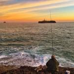 De pesca en el mejor escenario