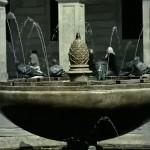 Encontramos la antigua fuente de la Plaza Porticada. ¿Quieres saber dónde está?