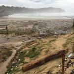 El temporal deja en los huesos a Cerrias y Portio