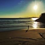 Bruma costera que tiene ganas de escalar los acantilados de Cantabria