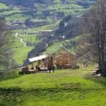 Heidi deja Suiza por las montañas de Liébana. Se construye una casa en Pendes