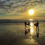 A jugar con las olas
