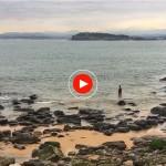 La vida en Santander: Baño, pesca, running y relax en la senda de Mataleñas